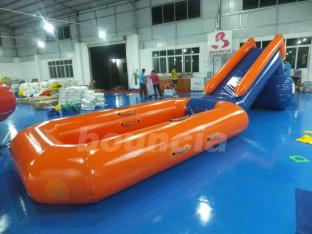 Inflatable Water Slide Pool For Outdoor Water Activity