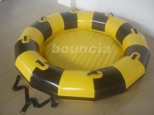 Inflatable Towable Boat Used In Lake Or Sea