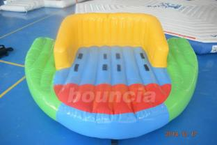 0.9mm PVC Tarpaulin Towable Boat For Water Games