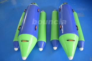 Inflatable Towable Tube With 0.9mm PVC Tarpaulin Fabric