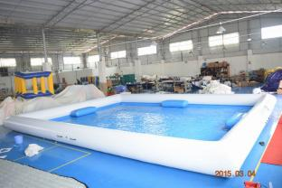 10×8m Square Shape Inflatable Pool For Outdoor Activity