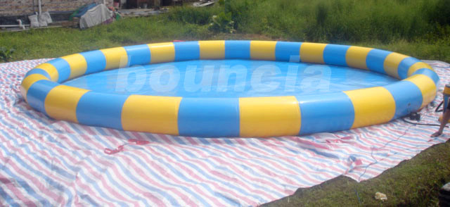 Round Inflatable Water Pool For Commercilal Use
