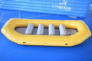 PVC Tarpaulin Inflatable Rafting Boat For Sale