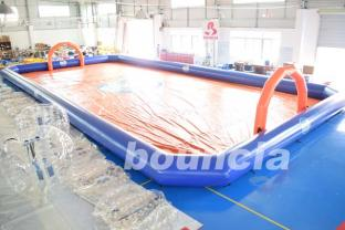 Bubble Football Arena , Sport Arena For Inflatable Bumper Ball