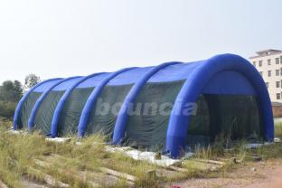 37.5m Long Large Inflatable Paintball Tent / Inflatable Paintball Field For Outdoor Activity