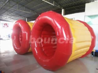 0.9mm PVC  Tarpaulin Inflatable Walk On Water Roller For Lake