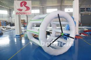 0.9mm PVC Tarpaulin Inflatable Water Roller For Commercial Use