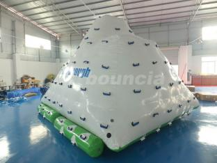Commercial Grade PVC Tarpaulin Inflatable Water Iceberg For Water Park