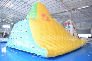 Durable Colorful Inflatable Water Iceberg With 0.9mm PVC Tarpauline