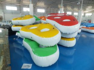 New Designed Inflatable Towable Water Ski Tube For Pool
