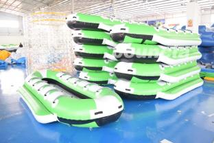 Inflatable Water Games Banana Boat For Sea