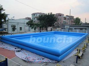 Double Layer Giant Outdoor Inflatable Water Pool For Commercial Use