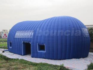 Blue Color 210D Coated Nylon Inflatable Event Tent For Sale , Tent Inflatable