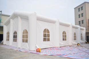 White Color 6m High Inflatable Party Tent