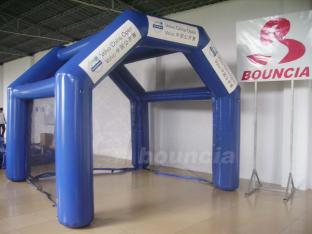 Blue Color Airtight Golf Tent For Sport Games