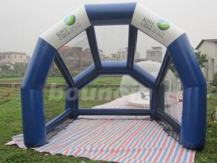PVC Tarpaulin Material Airtight Inflatable Golf Tent