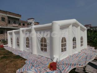 White Color Durable PVC Tarpaulin Inflatable Wedding Tent For Sale