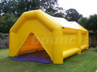 Durable Commercial Grade Yellow Color Airtight Camping Tent