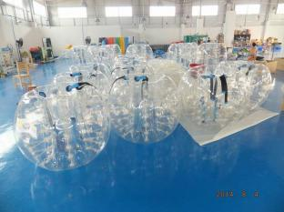 TPU Inflatable Body Bumper Ball / Bumper Ball For Kids / Inflatable Human Soccer Bubble
