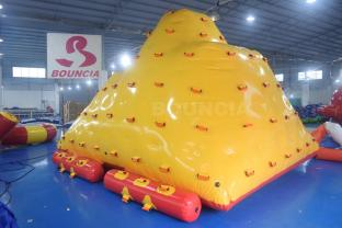 Water Park Inflatable Floating Water Iceberg For Water Games