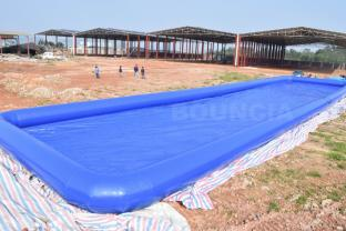 40m*10m*1mH Giant Inflatable Rectangular Water Pool For Water Park Games
