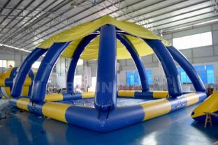 Large Inflatable Swimming Water Pool With Tent Cover For Sale