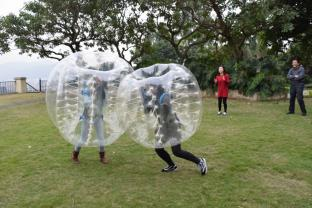 TPU Human Inflatable Bumper Bubble Ball For Outdoor Sports