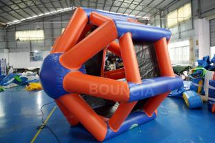 2.5m High Inflatable Water Roller / Inflatable Roller Wheel For Adults