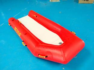 Anti UV 0.9mm PVC Tarpaulin Inflatable Rescue Boat For Sale