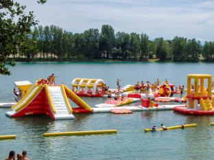 Kids And Adults Aqua Inflatable Floating Water Games With TUV Certification