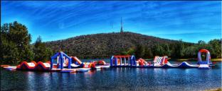 Factory Direct Price Floating Inflatable Water Games For Lake, Sea And Resort